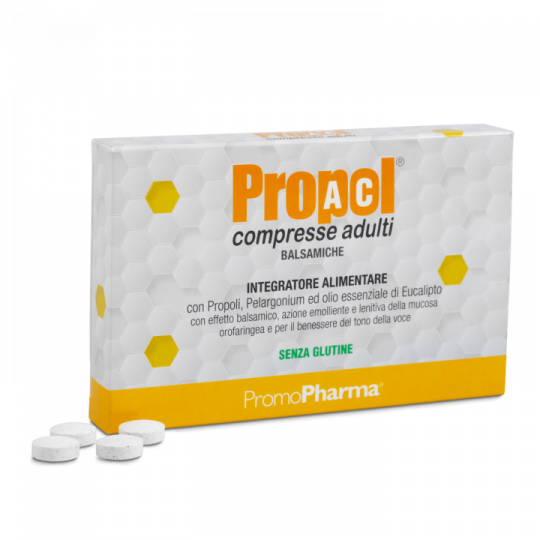 PropolAc® Tablets for Adults – Balsamics