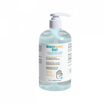 Steriman® Gel bottle 500 ml 70% di alcool