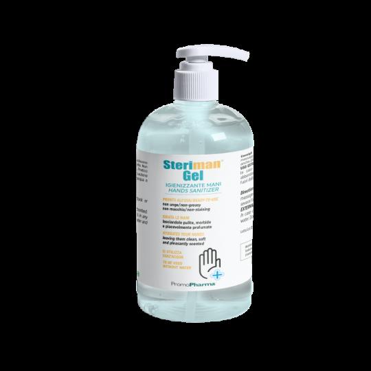Steriman® Gel flacone 500 ml 70% di alcool