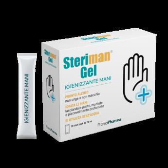 Steriman® Gel 20 stick 70% di alcool