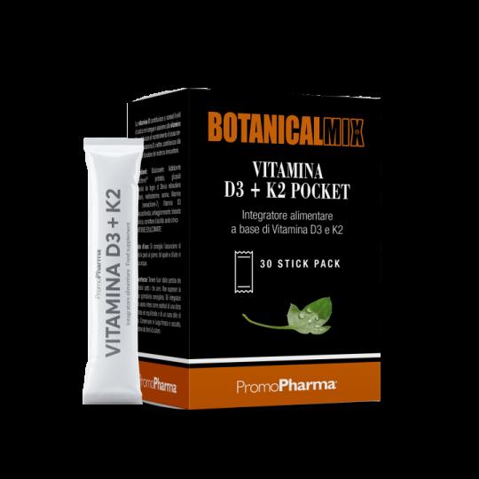 Vitamina D3 + K2 Pocket