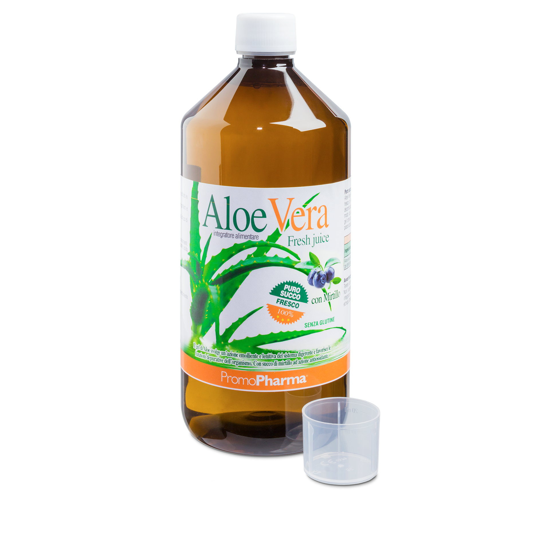 Aloe Vera fresh juice mirtillo