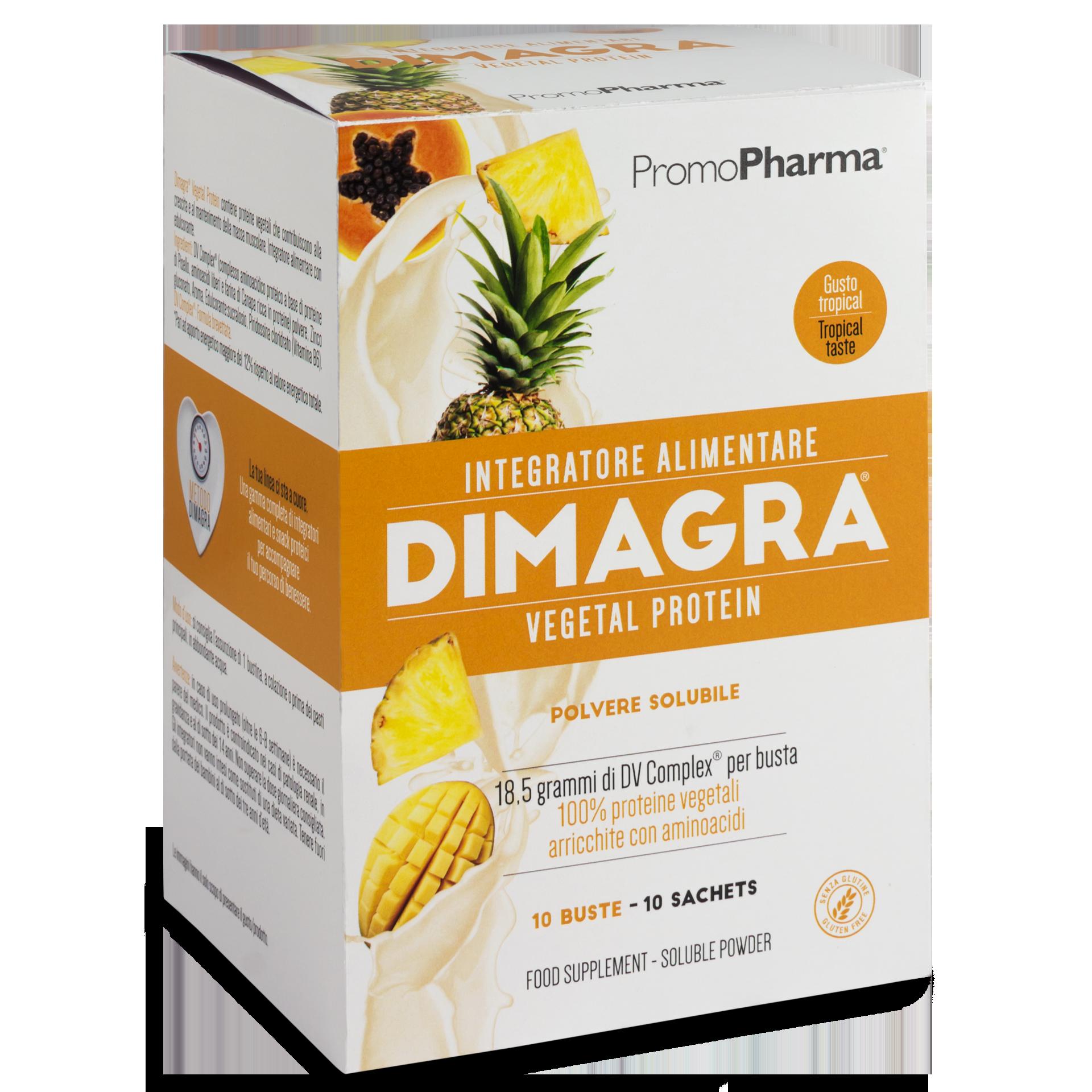Dimagra® vegetal protein